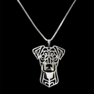 2018 Fashion Jewelry Metal German Pinscher Dog Necklaces Lovers' Alloy Animal Pendant Necklaces Drop Shipping