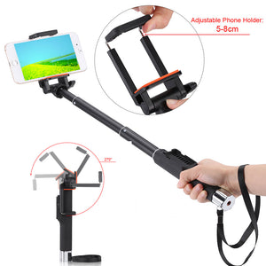 YUNTENG YT-888 Selfie Stick Bluetooth Monopod Self-Timer with Remote Controller Shutter For iPhone Samsung Xiaomi Smartphone