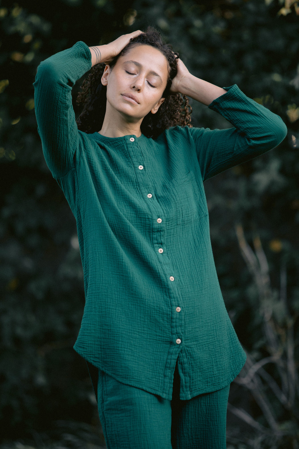 the sally shirt holiday colors
