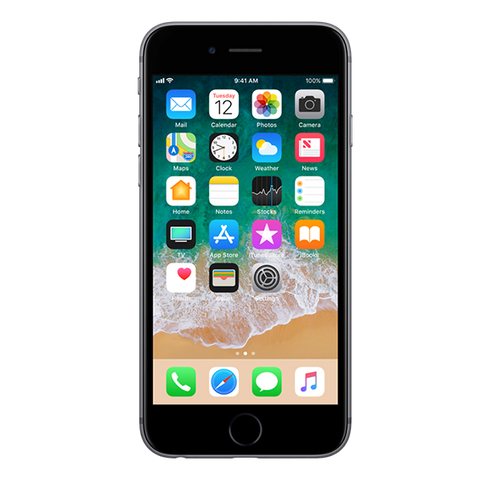 iPhone 6 32GB Front Space Gray