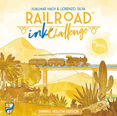 Railroad Ink Challenge Shining Yellow