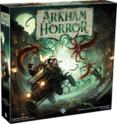 Arkham Horror 3rd edition board game