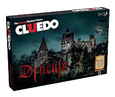 Cluedo Dracula Board Game