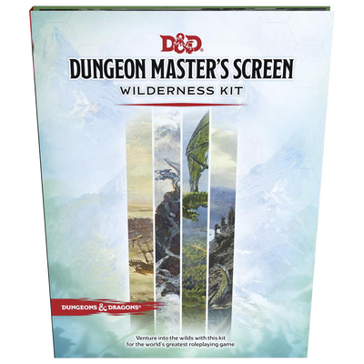 Dungeon Masters Screen Wilderness Kit