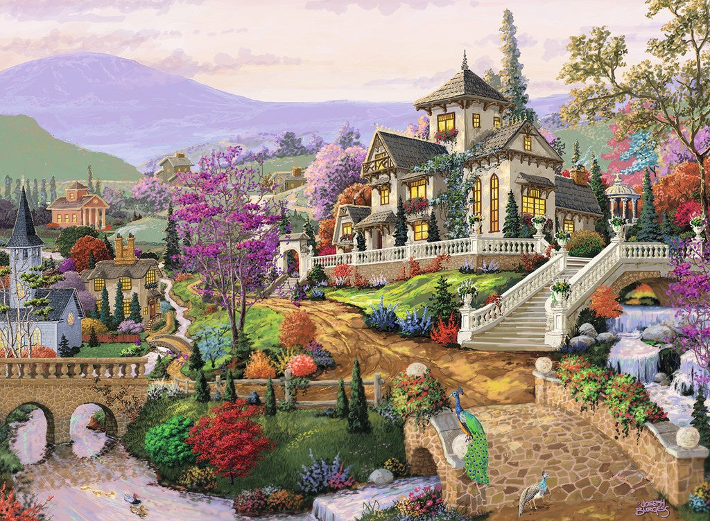 Hillside Retreat 500pc
