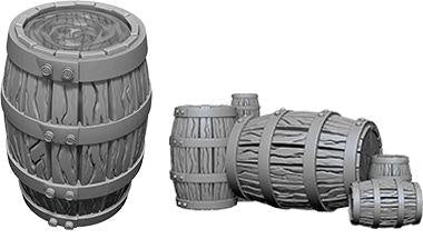 Wizkids Barrel & Pile of Barrels