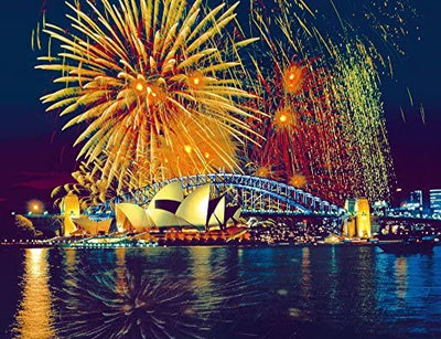 Fireworks in Sydney 1000pc