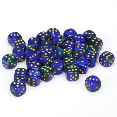 Dice set D6 12mm x 36