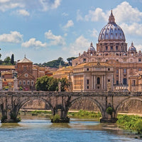 The Bridge of Angels Rome 2000pc