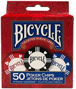 Bicycle Poker Chips 50