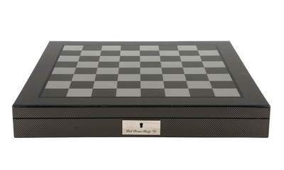 chess board carbon fibre 40cm w drawers