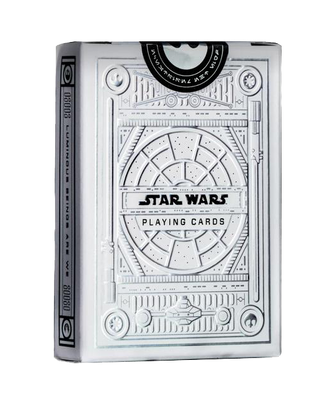 Star Wars Light Side Silver Special Playing Cards