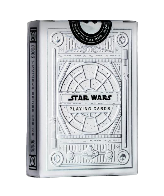 Star Wars Light Side Silver Special Playing Cards Gas Games