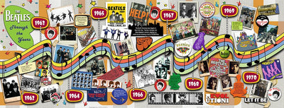 Beatles Through the Years 1000pc