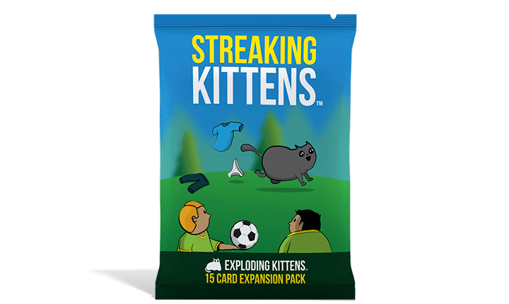 Streaking Kittens Card Game Expansion