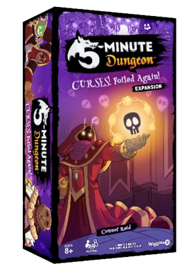 5 minute dungeon curses foiled again expansion