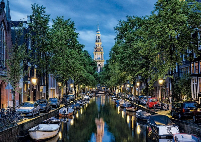 Amsterdam Canal 1500pc
