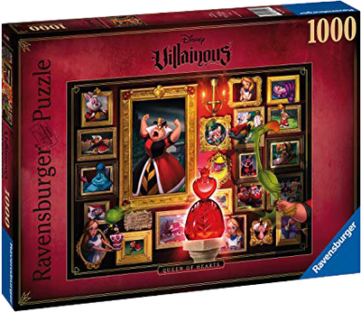 Disney Villainous Queen of Hearts 1000pc