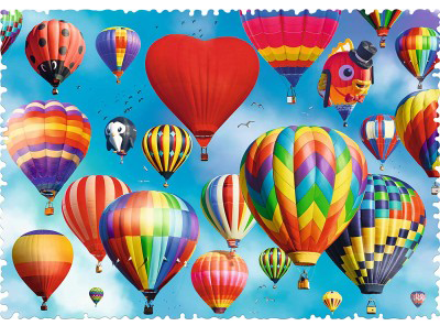 Crazy Shapes Colourful Balloons 600pc