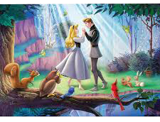 Disney Moments Sleeping Beauty 1000pc