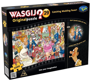 Wasgij Original 29 Catching Wedding Fever