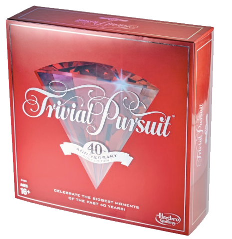 Trivial Pursuit 40th Anniversary Edition Board Game