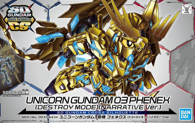 SDCS Unicorn Gundam 03 Phenex