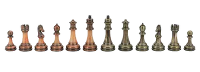 Dal Rossi Chess Pieces Antique Finish