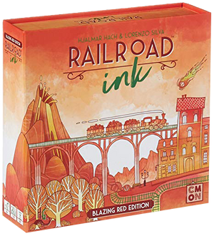 Railroad Ink Blazing Red edition
