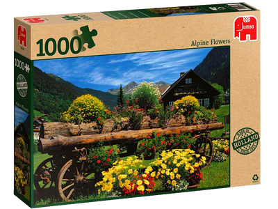 Alpine Flowers 1000 pc