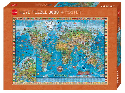 Amazing world 3000pc