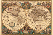Antique World Map 5000pc