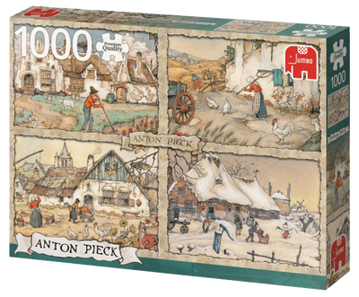 Anton Pieck 4 Seasons 1000pc