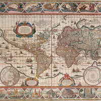 World Map 1650 2000pc