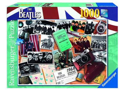 Beatles 1964 A Photographers View 1000pc