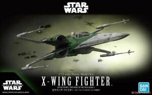 X Wing Fighter: The Rise of Skywalker scale 1/72