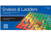 Blue Opal Snakes and Ladders