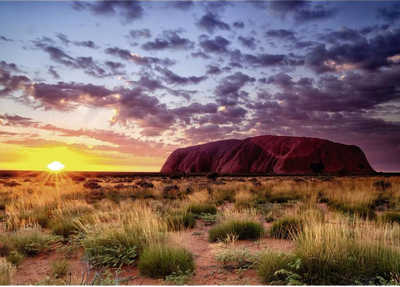 Beautiful Places Ayers Rock, Australia 1000pc