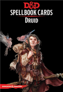 D&D Spellbook Cards Druid
