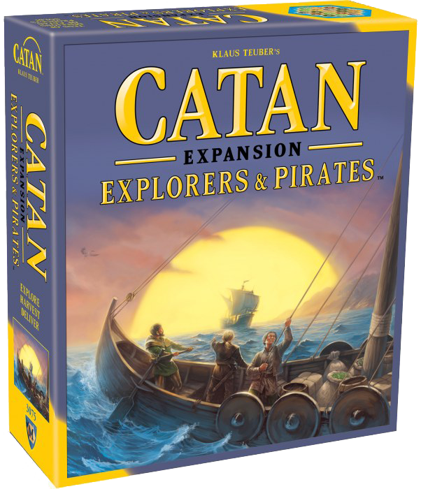 Catan Exploers and Pirates Board Game expansion