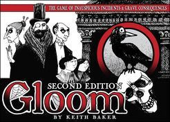 Gloom second edition card game