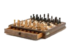 Chess and draughts Wood  15 inch