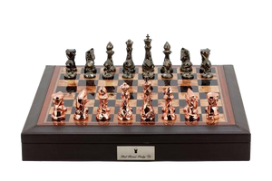 Dal Rossi Chess Board 18 inch Beveled Edge