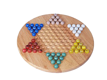 Chinese Checkers - wood