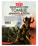 D&D Screen Tomb of Annihilation