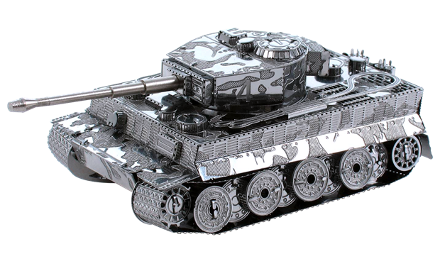 Metal Earth Tiger Tank