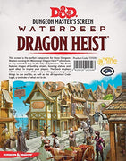 D&D Waterdeep Dragon Heist DM Screen