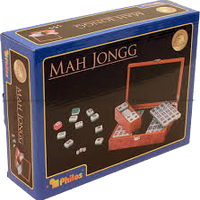 Mahjong in wooden box