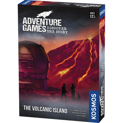 Adventure Games The Volcanic Island