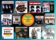Beatles Albums 1964 66 1000pc